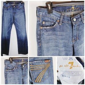Seven for all mankind Dojo Flare jeans 29